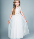 A-line dress with lace bodice from Papilio Kids Ceremony Collection
