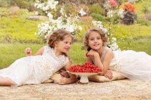 Flower girl duties
