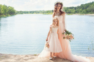 Flower girl dresses for beach weddings