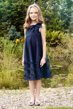 Sleeveless dress with embroidery from Papilio Kids Glamour Collection