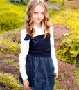 Tulle embroidered skirt from Papilio Kids Glamour Collection