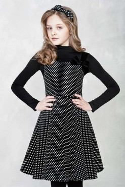 Jacquard sleeveless dress from Papilio Kids Glamour Collection