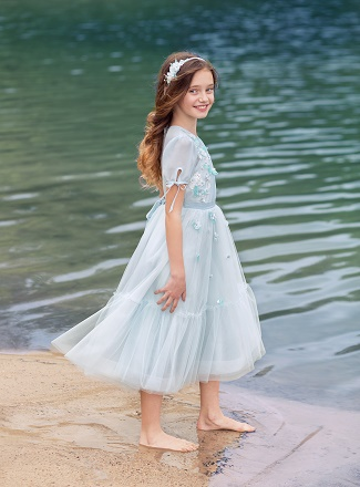 Flower Girl Dresses for Beach Wedding - Papilio Boutique