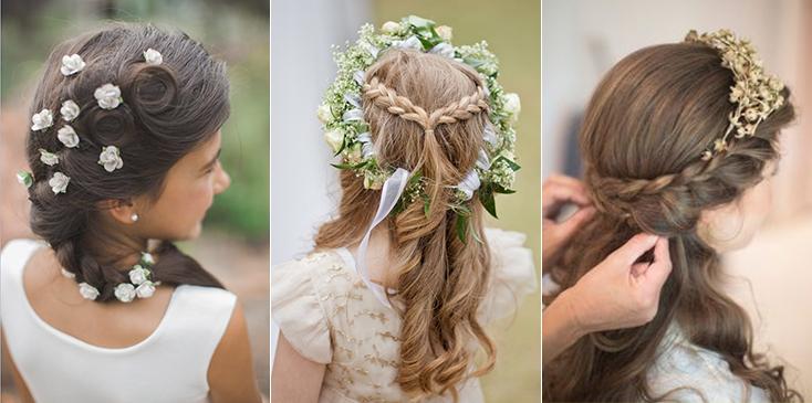 Flower Girl Hairstyles - Papilio Kids
