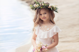 boho flower girl dresses Papilio Kids