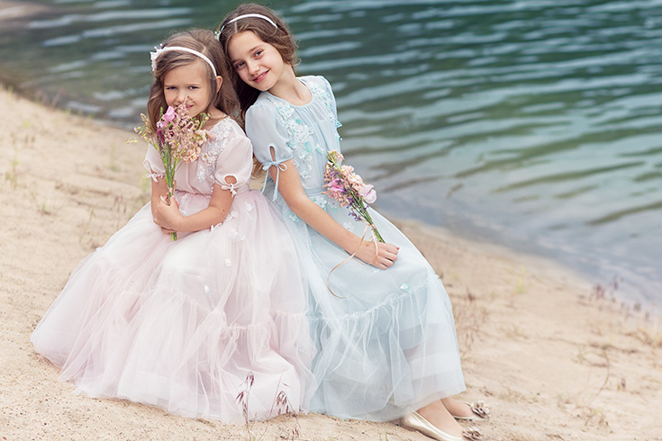 floral-girls-dresses - Papilio Kids