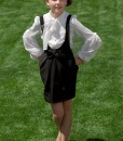 Black suspender skirt from Papilio Kids School Collection