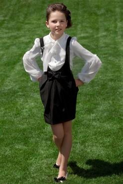 Black suspender skirt from Papilio Kids School Collection