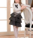 Long sleeve blouse with bow decor from Papilio Kids School Collection