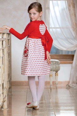 Long sleeve red bolero from Papilio Kids Glamour Collection