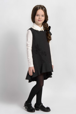 Sleeveless high low dress from Papilio Kids School Collection