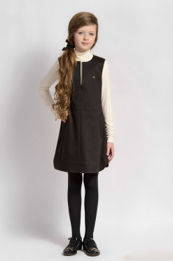 A-line dress with pockets from Papilio Kids School Collection
