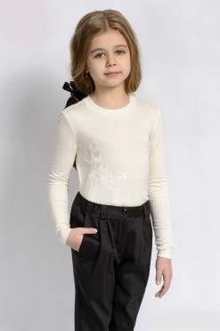 Long sleeve jumper with trousers outfit from Papilio Kids School Collection