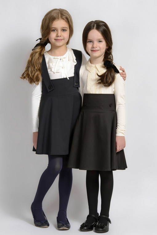 Suspender high waisted skirt from Papilio Kids School Collection