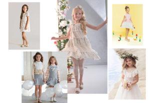 light-dresses luxury kids clothes