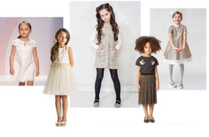 sparkly-dresses luxury kids clothes