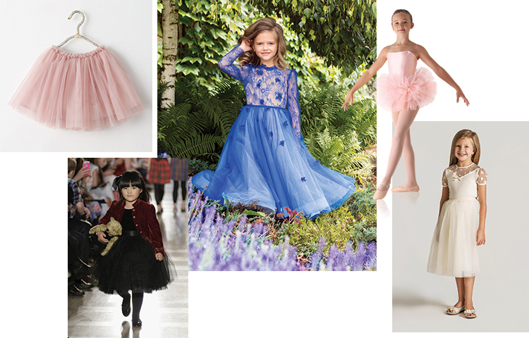 tulle-skirts-kids luxury kids clothes