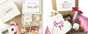 flower girl gifts baskets