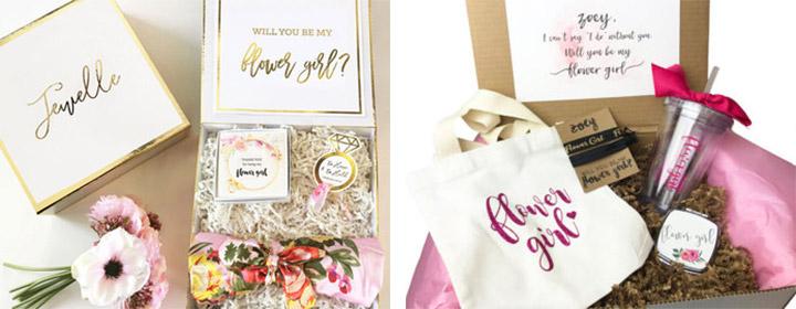 flower girl gift baskets