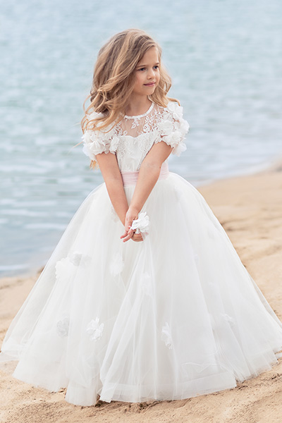 895ee46052b Flower Girl Dress Trends For The Wedding Season - Papilio Kids