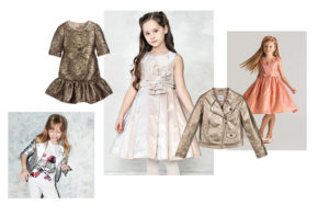 METALLICS luxury kids clothes