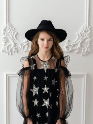 Papilio Kids star print dress