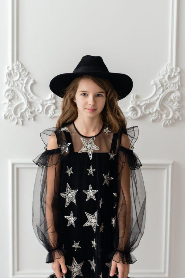 Papilio Kids star print dress