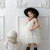 Papilio Kids cup sleeve flower girl dress