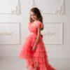 Papilio kids high-low dress