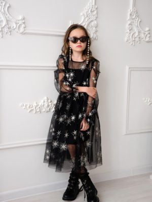 Papilio Kids Balloon sleeve dress