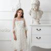 Papilio Kids Balloon sleeve sequinned dress